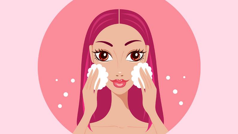 Saadan renser du hud